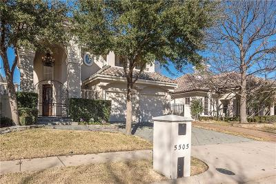 Plano Single Family Home For Sale: 5505 Gleneagles Drive