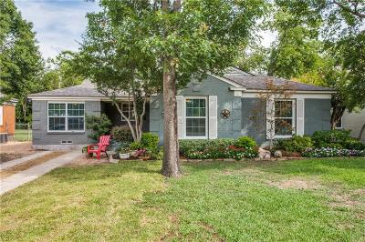 Single Family Home For Sale: 10022 Lake Gardens Drive