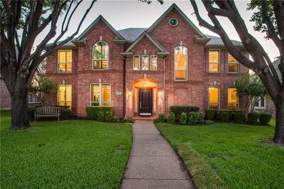 Plano Single Family Home Active Contingent: 3913 Morningside Drive