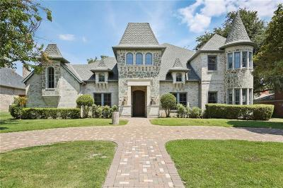 Preston Hollow Single Family Home For Sale: 6815 Norway Road
