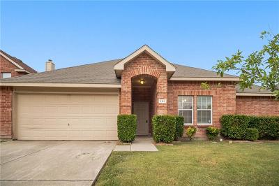 Wylie Single Family Home Active Option Contract: 908 Oakcrest Drive