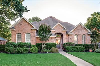 Keller Single Family Home Active Kick Out: 1502 Highland Oaks Drive