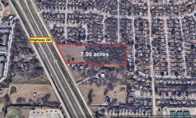 Arlington Commercial Lots & Land For Sale: 6701 Us 287 Highway