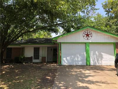 Dallas County, Denton County, Collin County, Cooke County, Grayson County, Jack County, Johnson County, Palo Pinto County, Parker County, Tarrant County, Wise County Single Family Home For Sale: 608 Owens Drive