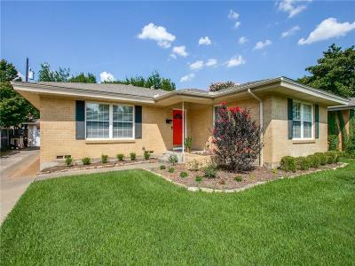 Single Family Home For Sale: 7231 Wake Forrest Drive