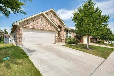 Fort Worth Single Family Home Active Option Contract: 12413 Woods Edge Trail