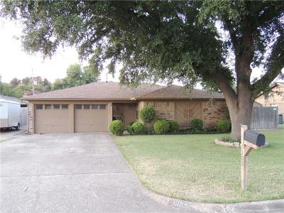 Benbrook Single Family Home Active Option Contract: 1305 Augusta Road
