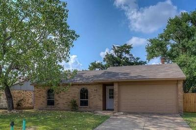 Allen Single Family Home Active Option Contract: 918 Sunny Slope Drive