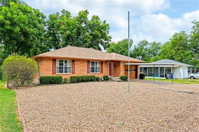 Wylie Single Family Home Active Option Contract: 303 W Jefferson Street