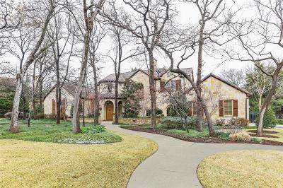 Tarrant County Single Family Home For Sale: 7320 Trianon Court