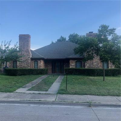 Addison Single Family Home For Sale: 3914 Winter Park Lane