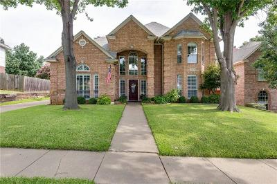Grapevine Single Family Home For Sale: 2153 Idlewood Drive