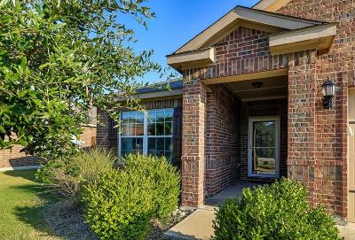 Rhome TX Single Family Home Active Option Contract: $178,250