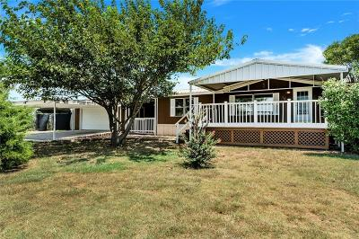 Rhome TX Single Family Home Active Option Contract: $179,900