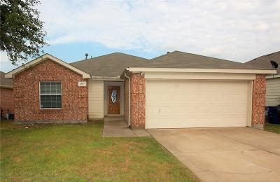 Forney Single Family Home Active Option Contract: 2017 Wildwood Drive