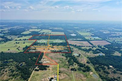 Wise County Farm & Ranch For Sale: Tract 1 Private Road 2562
