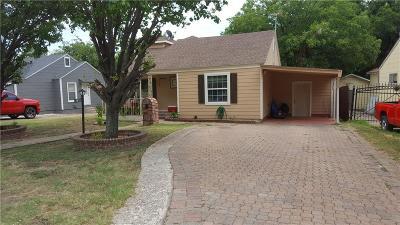 River Oaks Single Family Home For Sale: 1612 Long Avenue