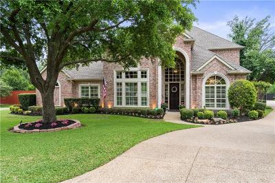 Southlake, Westlake, Trophy Club Single Family Home Active Contingent: 1408 Chimney Works Drive