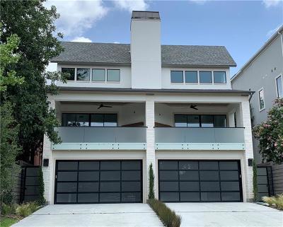 Dallas County Half Duplex For Sale: 4218 Bowser Avenue
