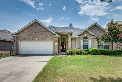 Grand Prairie Single Family Home Active Option Contract: 2937 Cheshire Way
