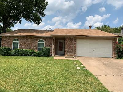 North Richland Hills Single Family Home Active Option Contract: 7403 Sandhurst Lane N