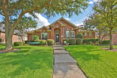 Plano Single Family Home Active Option Contract: 3412 Bright Star Way