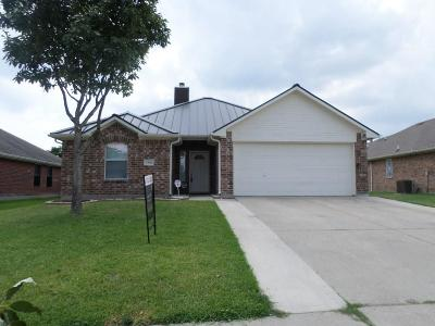 Balch Springs Single Family Home Active Option Contract: 2505 Spring Park Drive