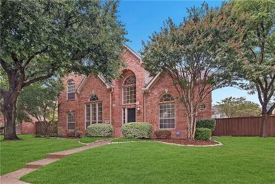 Coppell Single Family Home Active Option Contract: 1030 Forestwood Lane