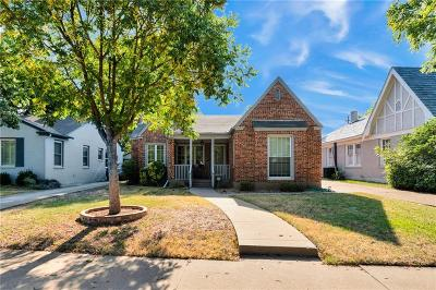 Fort Worth Single Family Home For Sale: 3253 Rogers Avenue
