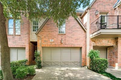 Addison Townhouse For Sale: 14870 Towne Lake Circle