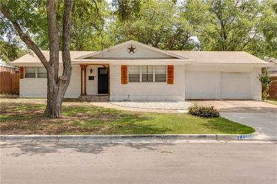 North Richland Hills Single Family Home Active Option Contract: 7516 Deaver Drive