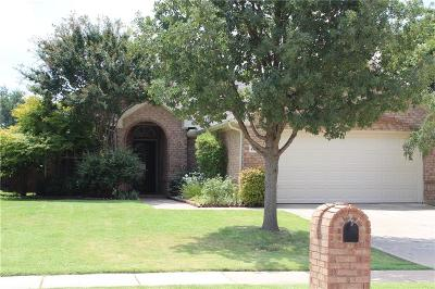Flower Mound Single Family Home Active Option Contract: 2609 Cross Haven Drive