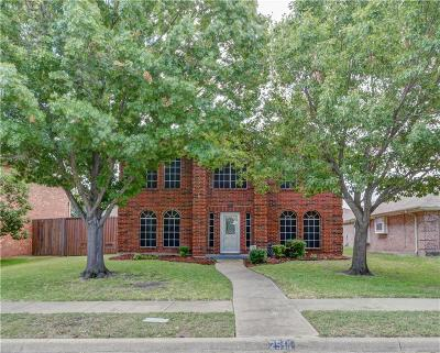Rowlett Single Family Home Active Option Contract: 2511 Thistle Lane