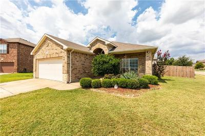 Burleson Single Family Home Active Option Contract: 812 Olive Court