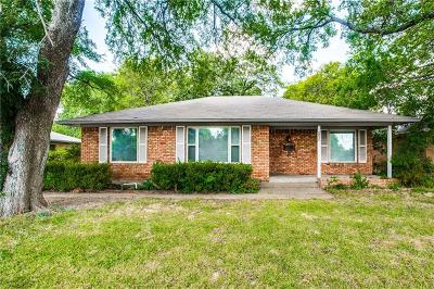 Single Family Home For Sale: 6835 Walnut Hill Lane