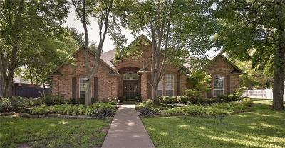 Keller Single Family Home Active Option Contract: 1614 Brentwood Trail