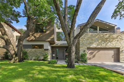 Dallas County Single Family Home For Sale: 6455 Lake Circle Drive