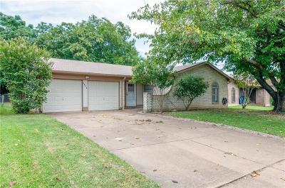 Watauga Single Family Home Active Option Contract: 6804 Richardson Drive