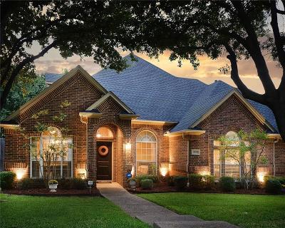 Grapevine Single Family Home Active Option Contract: 3332 Pecan Hollow Court