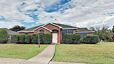 Sachse Single Family Home For Sale: 3219 Lance Lane