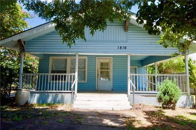 Single Family Home For Sale: 1816 McMillan Avenue