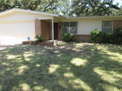 Irving Single Family Home Active Option Contract: 2821 Wells Road