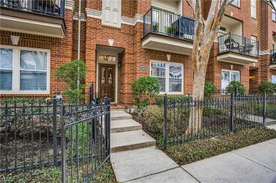 Dallas County Townhouse For Sale: 3419 Howell Street