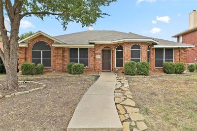 Allen Single Family Home For Sale: 1419 Woodmont Drive