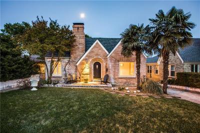 Dallas County Single Family Home For Sale: 6902 Vivian Avenue