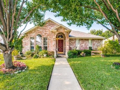 Sachse Single Family Home Active Option Contract: 3206 Creekridge Court
