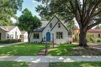 Arlington Heights Single Family Home For Sale: 4004 El Campo Avenue
