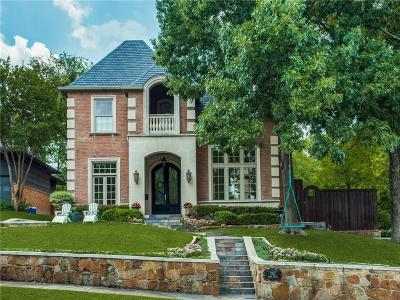Allen, Dallas, Frisco, Plano, Prosper, Addison, Coppell, Highland Park, University Park, Southlake, Colleyville, Grapevine Single Family Home For Sale: 7102 Shook Avenue
