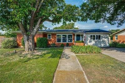 North Richland Hills Single Family Home Active Option Contract: 4513 Vance Road