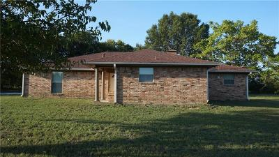Navarro County Single Family Home Active Option Contract: 2569 N Fm 55